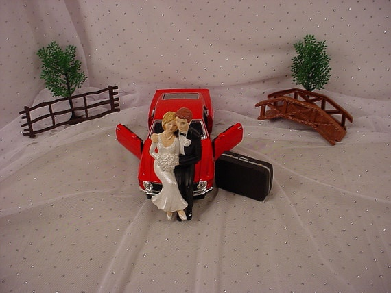 ford truck wedding cake topper items similar to mustang car customized groom 14404