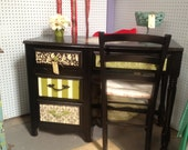 French Garden Desk with Matching Chair