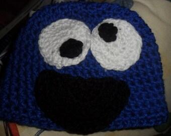 Sesame Street Inspired hat- Cookie Monster