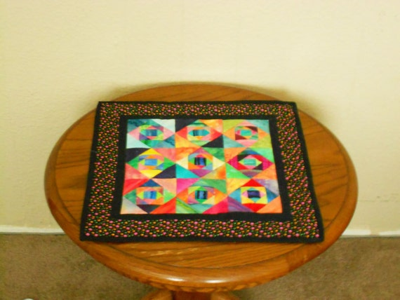 Batic Color Dimensions  Table Topper 17x17in