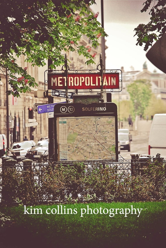 Metro Solferino,Paris,France,multiple sizes available-parisian, subway signs,city living, Paris,France,