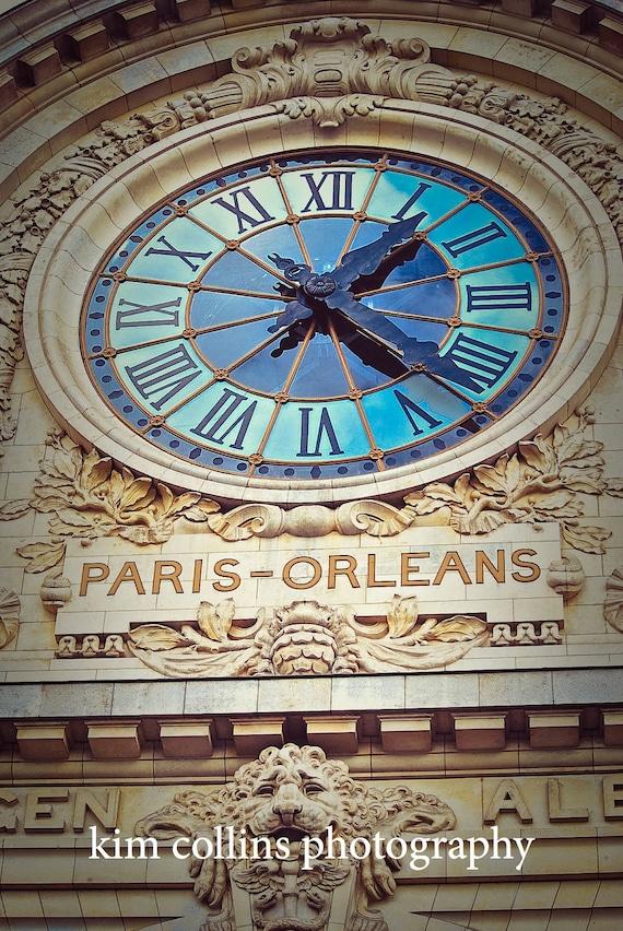 Paris-Orleans Clock at the d'Orsay,Fine Art Photography,Paris,France,multiple sizes available-parisian,clock,museum,time,orleans, paris