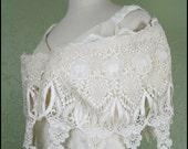 vintage 80s lace jessica mcclintock prom dress// xl