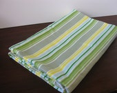 Picnic Stripes Flannel Blanket
