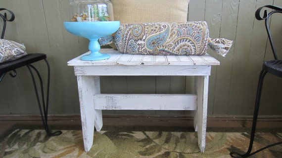 Vintage Beadboard Bench--Please see special shipping notice