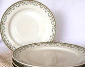 Vintage Ceramic Plates Haviland Limoges Rare DURANA Fine Bone China Replacement