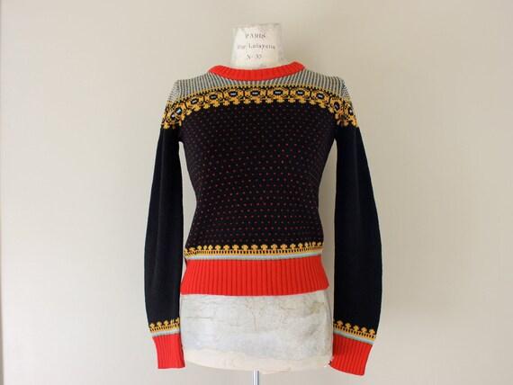 Vintage Ski Sweater Eighties