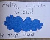 Hello Little Cloud