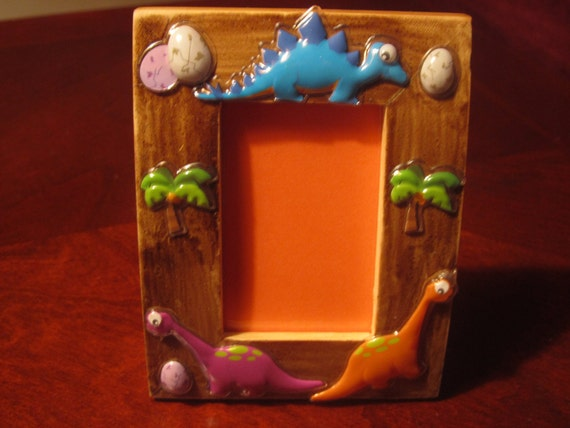 JURASSIC PICTURE FRAME for kids