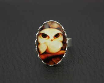 Cute OWL ring (1825)
