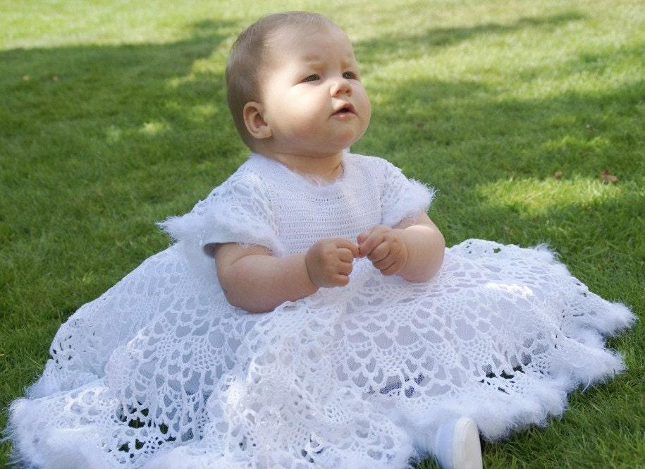 Christening baby dress Blessing girl dress Little princess