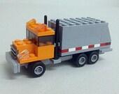 Garbage Truck Custom LEGO Kit (Series BKNY-102)