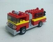 Fire Truck Custom LEGO Kit (Series BKNY-104)