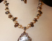 "27"" Freshwater Pearl Necklace /0495"