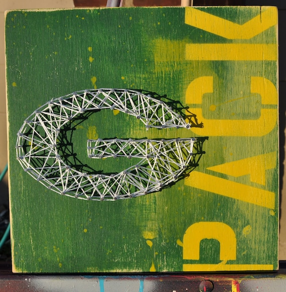 Green Bay Packers String Art by Summo