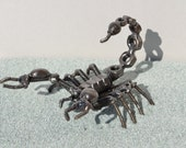 SCORPION 5 inches  - Scrap Metal Art