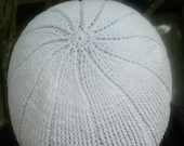 Najm. Or star is the name of this kufi crocheted in 100% cotton crochet thread size 10.