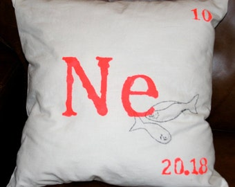 Ne, Neon Cushion, Mendeleev Furnishings
