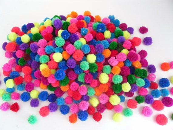 Unavailable listing on etsy for Pom pom crafts