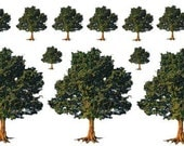 Tree decals for Lampwork and Fusing to glass SM108