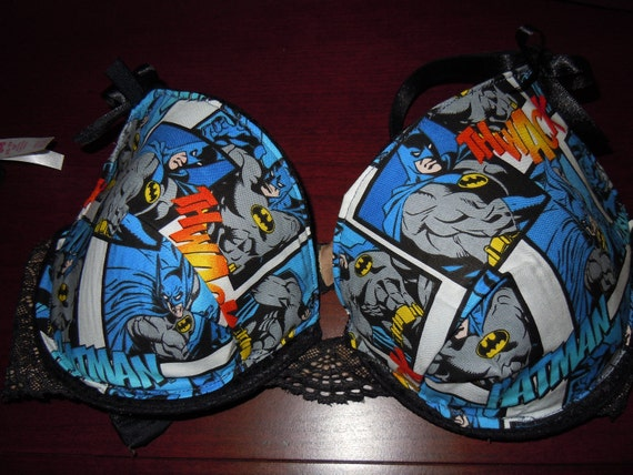 Batman inspired bra