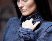 Felted Dark Blue Jacket