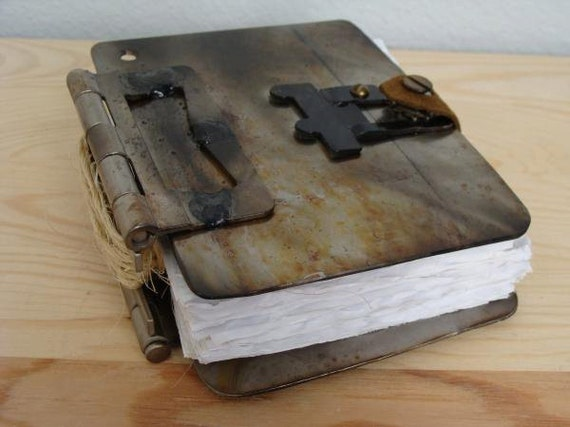 Metal Welded Book
