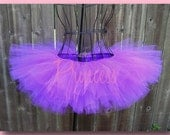 Tinkz - Neon Purple Tutu - Rave - Dance - Club - Party - Available in Infant, Toddler, Girls, Teenager and Adult Sizes