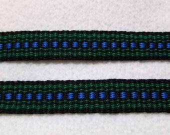 "Zumini - Hand Woven Inkle Trim (5/8"" wide)"