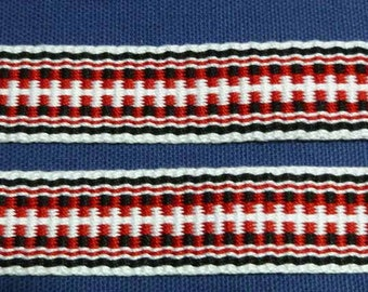 "Violante -  Hand Woven Inkle Trim (1"" wide)"