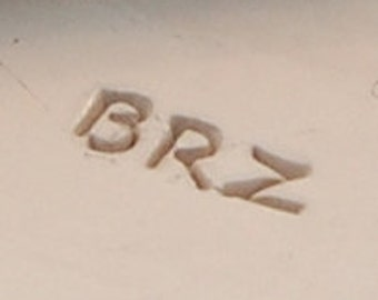 Bronze (BRZ)  Content Marking Stamp