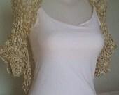 free shipping, amber silk shrug, summer amber shrug, bolero ambar de seda, fashion shurg for summer