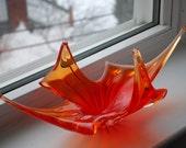 Vintage 60s Glass Art