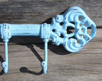 Shabby Chic/Cottage Chic Skeleton Key Rack/Hook