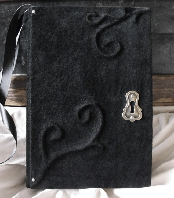 Major Sale Black Suede Journal