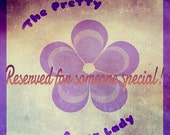 Sidekick PR Logo Case--Reserved for Jenny