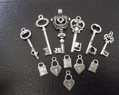 Keys and Locks Set 12pc (SK1)