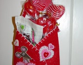 Red Valentine Gift Bag