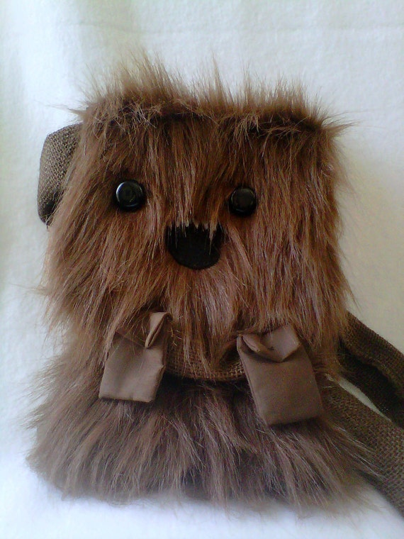 Wookiee Chewie Chewbacca Star Wars Kawaii Purse