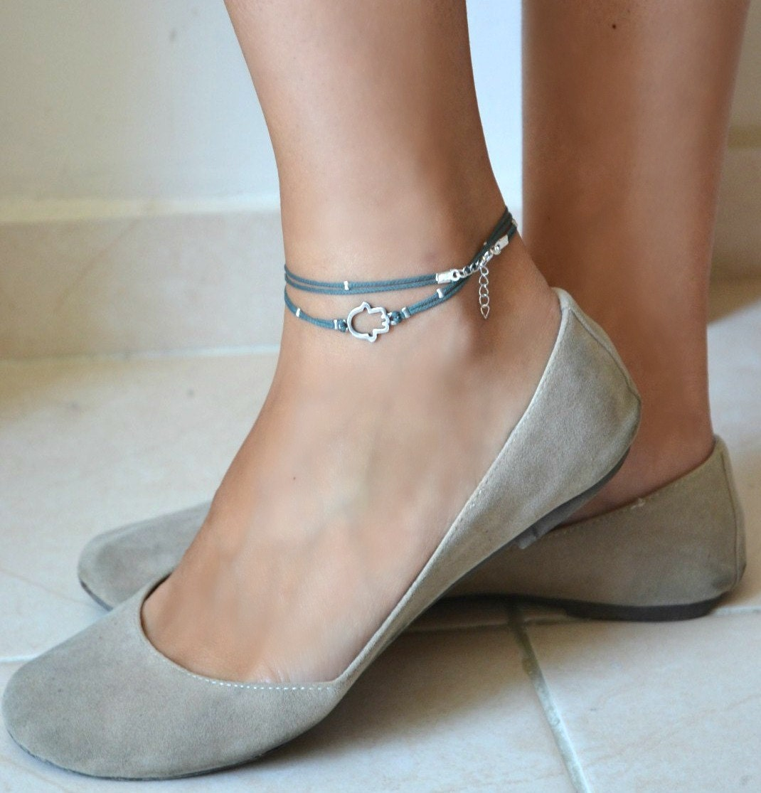Pics For > String Ankle Bracelets Tumblr