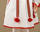 Ukrainian embroidered skirt. For little girls and adult girls from 4 to 20 years.