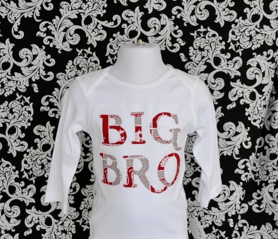 Big Brother Onesie, Big Bro Shirt, New baby sibling, Big Sister, Big Sis, Customized, Baby Shower Gift, Birthday Gift, Lil Sis, Lil Bro