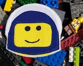 Lego Minifig Astronaut Iron-on Applique or Patch