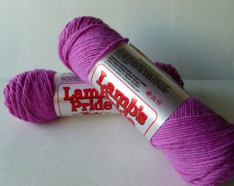 Yarn Sale  - RPM Pink Lamb's Pride Worsted by Brown Sheep Company
