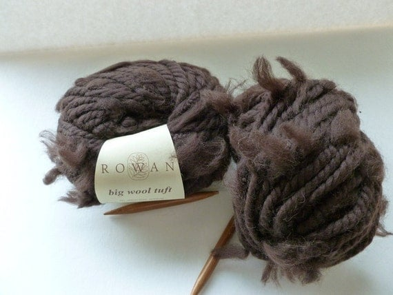 Special Order for Dawn  - Brown Big Wool Tuft Yarn by Rowan