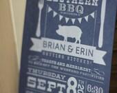 Good 'Ol Southern BBQ Invitation