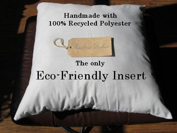Eco Friendly Pillow Insert 18 x 18