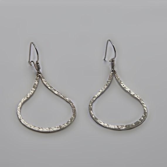 Drops - Sterling Silver Earring  Drops Earring, Silver Drops Earring, Jewelry Handmade