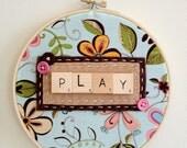 Play Embroidery Hoop