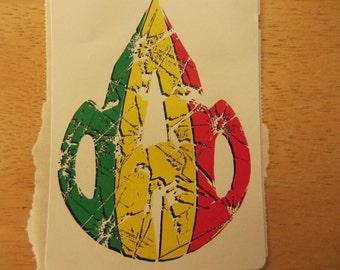 shadter dab sticker